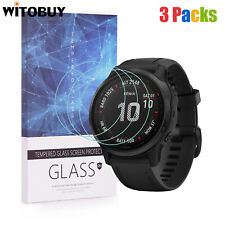 For Garmin Fenix 6s Series Tempered Glass Screen Protector 9H Hardness(3 Packs)