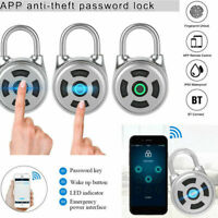 Smart Bluetooth Padlock Electronic Wireless Lock Keyless APP Control Password GW