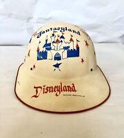 Vtg 50s Disneyland Tomorrowland Souvenir Keppy Kap Hard Hat Mickey Disney