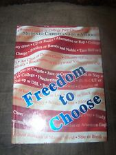 2005 Modesto (CA)Christian High Crusade Year Book & DVD Movie in Excellent Shape
