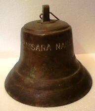 Vintage Bussara Naree Marine Brass Bell - Great Sounding - Ship's Original