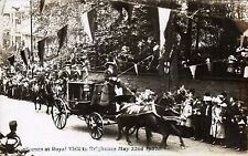 Brighouse. Scenes at Royal Visit to Brighouse 1907.