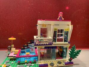 Lego Friends 41135 Livi's Pop-star House Retired Set,