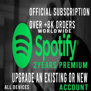Spotify 🎶 Premium 2 Years 🎶🎶🎶🎶🎵
