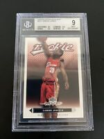 2003-04 Upper Deck UD MVP #201 Rookie RC Lebron James BGS 9 MINT FREE SHIPPING