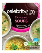 Celebrity Slim Assorted Soup 7 Pack, Nutritionally Balanced, For Lunch Or Dinner