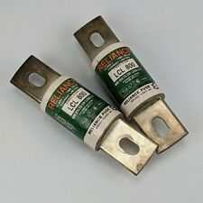 2x Reliance LCL800 Class L Time Delay Current Limiting Fuse Lot - 800A brush