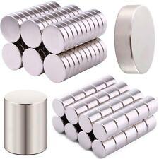 Ø1mm Bis 80mm Starke Neodym Super Scheiben Magnete NdFeb N35 Rund Neodym Magnete