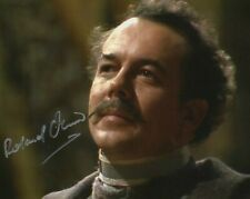 Doctor Who Autograph: ROLAND OLIVER (The Keeper of Traken) Signed Photo