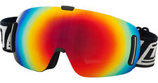 DIRTY DOG BLIZZARD FRAMELESS GOGGLES SKI SNOWBOARD CAT 3 RED FUSION LENS 54090