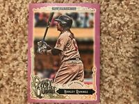 Hanley Ramirez Red Sox 2017 Topps Gypsy Queen PURPLE PARALLEL #d /250