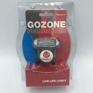 The GoZone Pedometer Virgin HealthMiles Fitness Step Counter