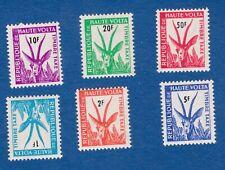 Alto Volta 1962 taxes segnatasse animali animals fauna gazzelle gazelle MNH**og