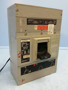 I-T-E Siemens HJ63F400 400 Amp Circuit Breaker 250 A Trip 600V Shunt HJ6 ITE