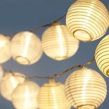 Lantern Mould Solar Power 30 LED Light Fairy String Garden Lamp Super Light