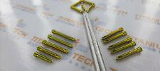 Safety Locking Screws 27 Mm Self Tapping Titanium Screws 154 Pcs