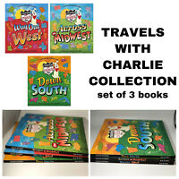 Travels with Charlie Collection Children's Travel Books Travelogue 3 book set