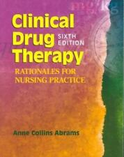 Clinical Drug Therapy: Rationales for Nursing Practice-ExLibrary