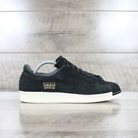 Adidas Superstar 80s Clean Trainers In Black RRP £85