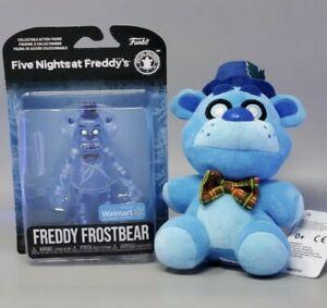 Five Nights at Freddy's FNAF FREDDY FROSTBEAR Plush & Figure  WalmartExclusive