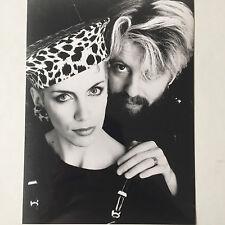 Photo   EURYTHMICS   Annie Lennox  Dave Stewart   Format 18x24cm