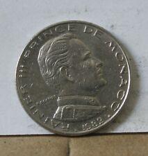 Monnaie monaco 1 franc 1982