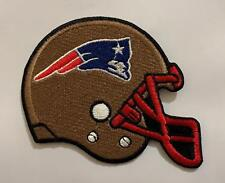 New England Patriots NFL Helmet sports Embroidered Iron on Sew on Patch N-234