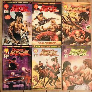 Bruce Lee Complete Set Mike Baron Val Mayerik Martial Arts Master 1-6