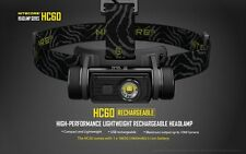 Nitecore HC60 XM-L2 U2 1000LM Cool White Rechargeable LED Headlight Flashlight