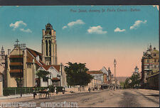 South Africa Postcard - Pine Street, Showing St Paul's Church, Durban   DR663