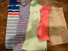 Vineyard Vines Boys Polos Shorts S 12 Lot Of 5