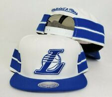 Mitchell & Ness White / Royal Blue NBA Los Angeles Lakers snapback Hat Cap
