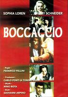 BOCCACCIO - Sophia Loren, Romy Schneider - Frederico Fellini (DVD) *NEU OVP*