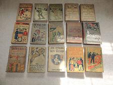 Lot of 15 WWI Boys Books Uncle Sam's Boys Boy Allies Border Boys Khaki Boys Spy