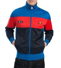 Ellesse Men's Track Top - Caprione - Red / Blue / Navy - Medium - RRP £65 - SALE