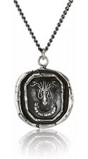 New, Pyrrha For HBO's Game of Thrones Silver House Greyjoy Necklace, Unisex 22""