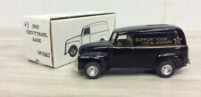 Ertl 1/25th scale diecast 1950 Chevy Panel Truck Bank SUPPORT LOCAL SHERIFF E63