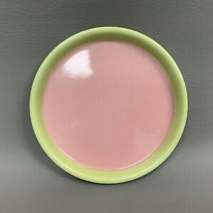 """Margaux's Tea Set Tray Platter Pink Green Southern Living at Home 8 1/4"""""""