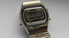 Alter Herren ⌚ MEISTER ANKER LCD CHRONOGRAPH Quarz Digital Uhr Vintage Germany