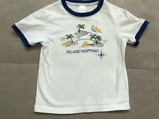 ba1e551c Janie And Jack Boys Shirt Sleeve Shirt Size 2 Toddler Islands Tropical White