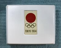 Japan 1964 Tokyo'64 Olympic Silver Coins 1000 & 100 Yen With Case JS#41