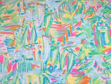 Lilly Pulitzer Dobby Cotton Fabric ~ Sea Salt and Sun ~ 1 yard