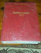 Who's Who in American  2013 by Marquis America m-z Hardcover 67th  Edition