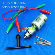 VANGEL-12V-24V 10000~20500RPM mini drill press pcb hand drill with Drill bit