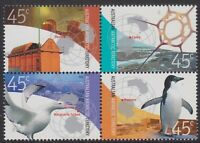 2002 AAT Australia Post - Design Set - MNH - Antarctic Research - SG156 > SG159