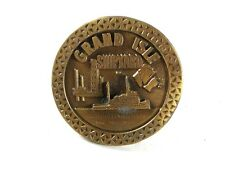 Grand Isle Shipyard OIl Field Contractors Belt Buckle By HIT LINE USA 42016