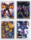 COMPLETE SET OF (4) BEAST WARS UPRISING STICKERS Transformers Club Exclusive