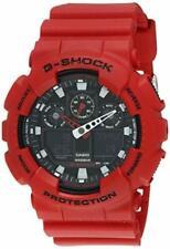 CASIO G-Shock GA-100B-4ADR Watch Red 0 GA-100B-4A