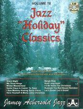 Jamey Aebersold Jazz Play-Along 78 Holiday Classics Noten mit CD