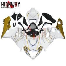 For Suzuki GSX-R1000 GSXR1000 05 06 ABS Fairing Kit Bodywork Corona White Gold